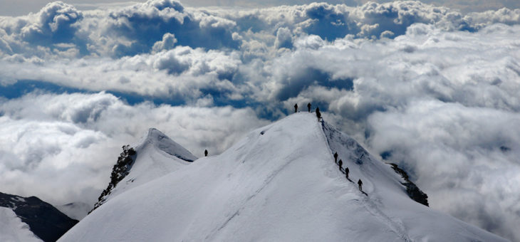 Castor 4 226 m & Gran Paradiso 4061 m – 2010