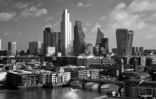 Londýn z Tate modern