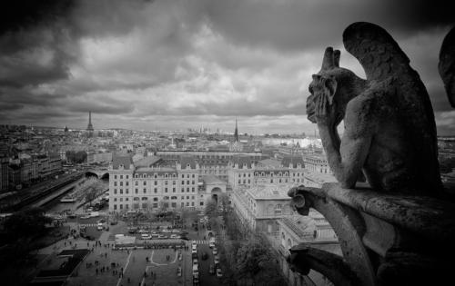 Gargoyle na Notre Dame
