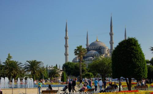 Sultanahmed - Modrá mešita