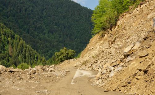 Státní silnice do Mestie
