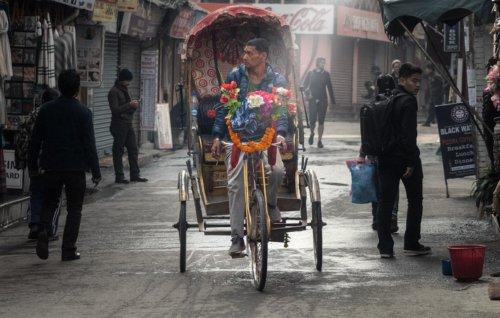 V ulicích Káthmándú