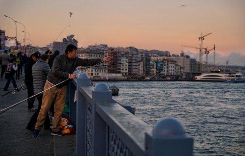 Galatský most v Istanbulu