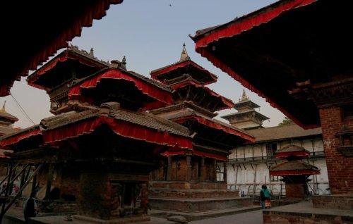 Káthmándú - náměstí Durbar