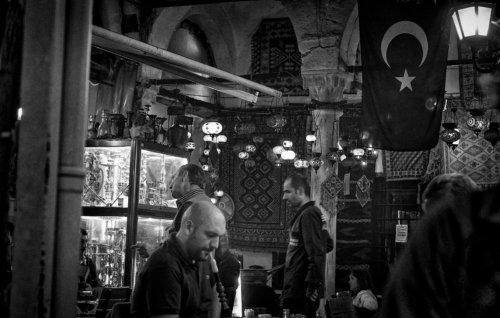 Istanbulská čajovna