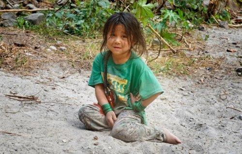 místní miss Nepál