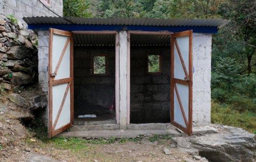 Nepálský welness , wc + lázně