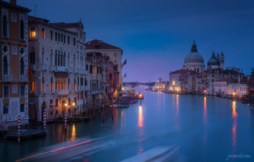 Benátky a Canal Grande