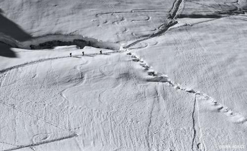Cestička na Monte Cevedale 3 769 m