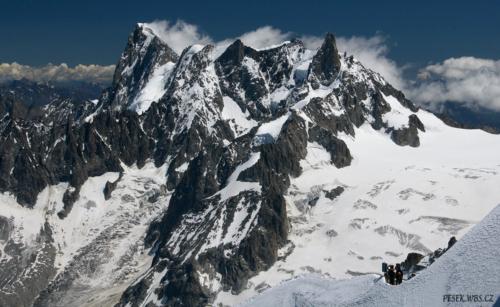 Grandes Jorasses 4 206 m.
