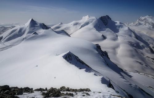 Pohled z Alphubelu směrem na jih