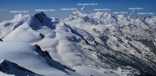 Panorama z  vrcholu Alphubelu