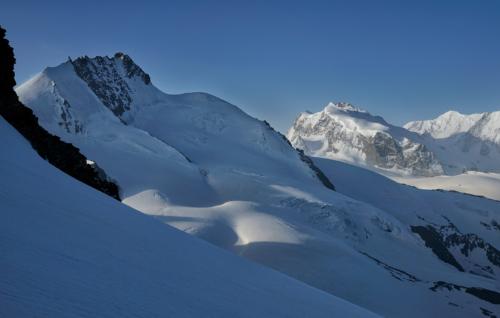Z výstupu na Alphubel 4 206 m