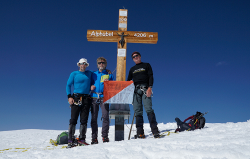 Alphubel 4 206 m - nuly vítězí