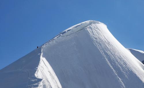Vrccholová pyramida Weissmiesu